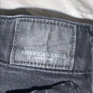 Black American Eagle pants